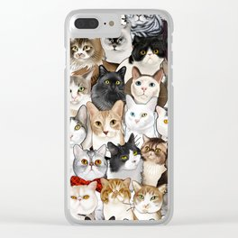 Catmina 2017 - SIX Clear iPhone Case