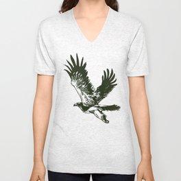 Eastern imperial eagle (Aquila heliaca) Unisex V-Neck