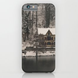 House On Lake Bled iPhone Case