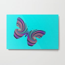 Life Is Like A Butterfly Metal Print