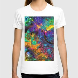 Psychedelic Ride - Motocross Racer T-shirt