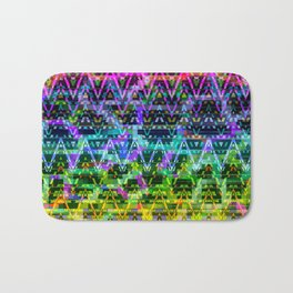 Abstract Connections Bath Mat