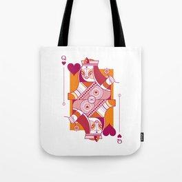 Delirium Queen of Hearts Tote Bag