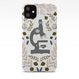 Gray Folk Microscope iPhone Case