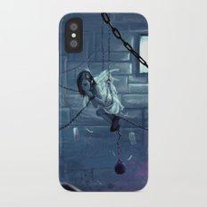 Silent Prayers iPhone X Slim Case