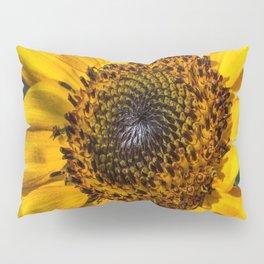 Bright Yellow Sunflower Pillow Sham