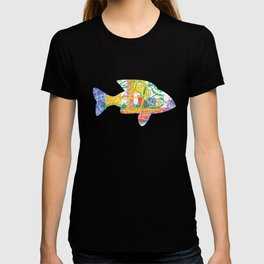 Waiting for the fish T-shirt