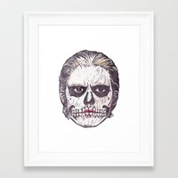 ahs Framed Art Prints featuring AHS by behindthenoise