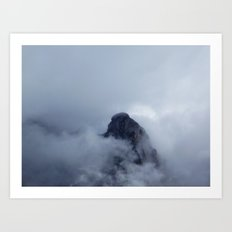 On the cloud Art Print