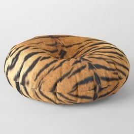 Faux Siberian Tiger Skin Design Floor Pillow