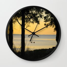 Go Kayaking Wall Clock