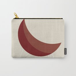 Red Coconut Chair by George Nelson Carry-All Pouch