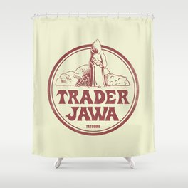 Trader Jawa Shower Curtain