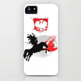 Polish Hussar Polska Husaria iPhone Case