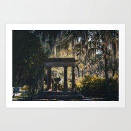 Bonaventure Cemetery - Savannah, Georgia Art Print