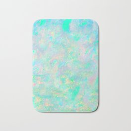 Light Blue Opal Bath Mat