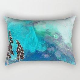 Inverted Foxglove Rectangular Pillow