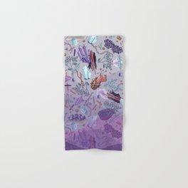 violet mountain dreams Hand & Bath Towel