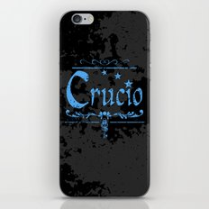 Harry Potter Curses: Crucio iPhone & iPod Skin