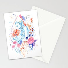 a hopeless romantic Stationery Cards