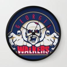 Georgia Walkers Wall Clock