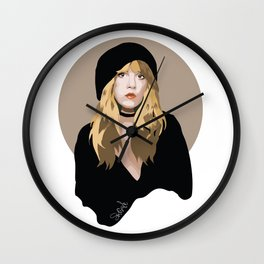 The Witch known as Sevie Nicks Wall Clock