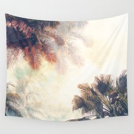 Swaying Palms Wall Tapestry