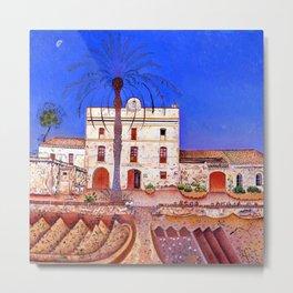 Joan Miro House with Palm Tree Metal Print