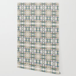 Multi Tiled Pastel Pattern Abstract Wallpaper