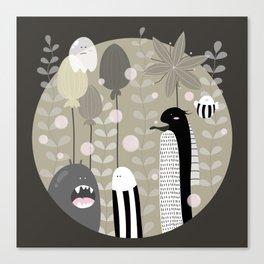 Japanese Fairy Tale \\ Piece 3 Canvas Print