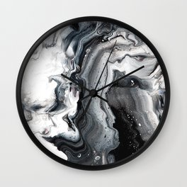 Marble in the Water Wall Clock