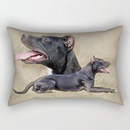 American Pit Bull Terrier Rectangular Pillow