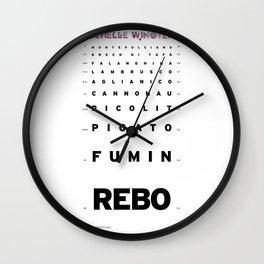 Echelle Winoyer - Italian Edition Wall Clock