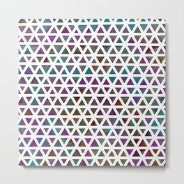 Geometric Nebula Metal Print