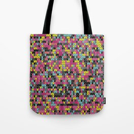 Heathered knit textile 1 Tote Bag