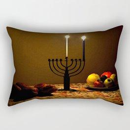 First Candle Rectangular Pillow