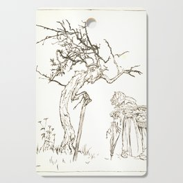 Arthur Rackham - A Dish of Apples by Eden Phillpotts (1921) - Songs to Pomona Cutting Board