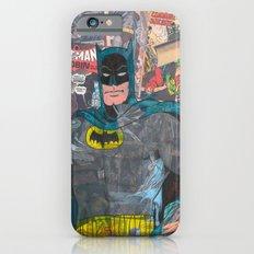 Vintage Comic Bat man Slim Case iPhone 6s