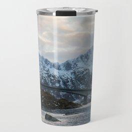 Lofoten winter Travel Mug