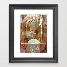 Sweet Coffee Framed Art Print