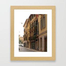 verona, italy Framed Art Print
