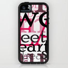 dear my sweetheart iPhone Case