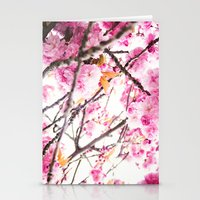 martell Stationery Cards featuring Seattle Blossoms by G Martell