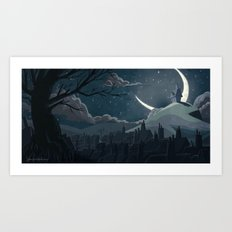 A Goodnight for Dreams Art Print