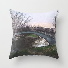 Charles River Esplanade 4 Throw Pillow