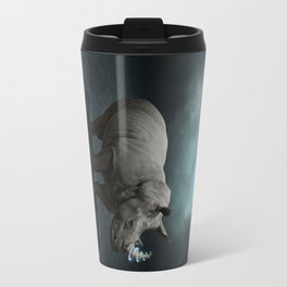 Power Is No Blessing In Itself v.1 (Protect the Rhino)  Travel Mug