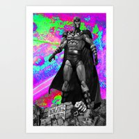 magneto Art Prints featuring Magneto by Lord Rocco