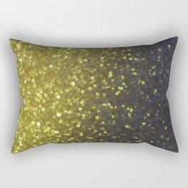 Glitter Bokeh Texture Rectangular Pillow