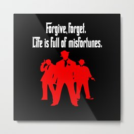movie quotes and sayings Metal Print