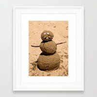 sandman Framed Art Prints featuring Sandman by Michelle Dokos
